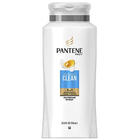 Pantene Pro-V Classic Care Solutions 2 in 1 Shampoo ...