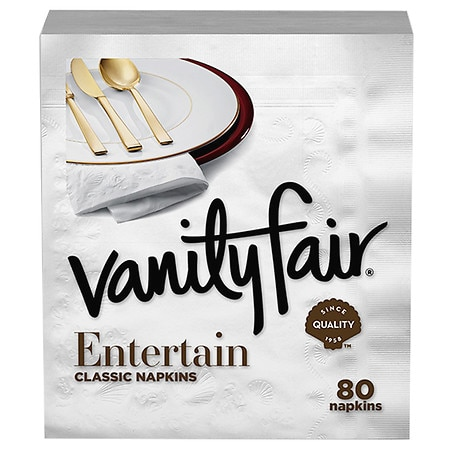 Vanity Fair Premium Dinner Napkins