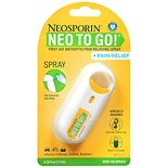 Neosporin Neo To Go! First Aid Antiseptic/ Pain Relieving Spray