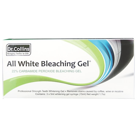 Dr. Collins All White Bleaching Gel Syringes