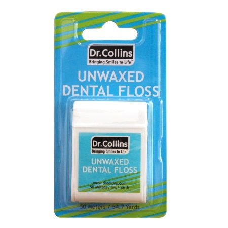 Dr. Collins Dental Floss - 55 Yd