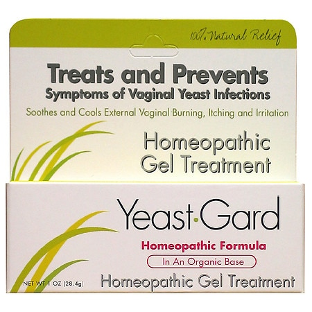 YeastGard Homeopathic Gel Treatment with Probiotics - 1 oz.