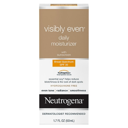 Neutrogena Visibly Even Daily Moisturizer Lotion - 1.7 fl oz