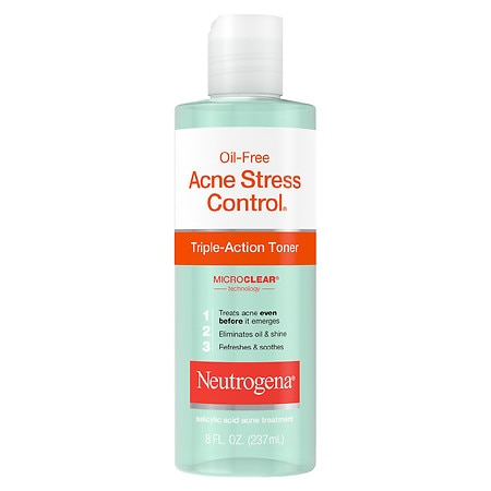 Acne Stress Control Triple-Action Toner - 8 fl oz