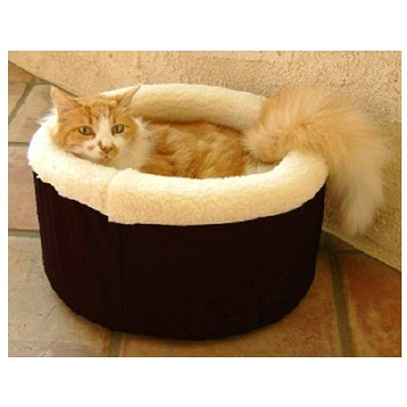 Majestic Pet Products Cat Cuddler Pet Bed 20 inch Black
