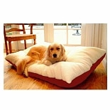 Majestic Pet Products Rectangle Pet Bed 36x48 inch Red