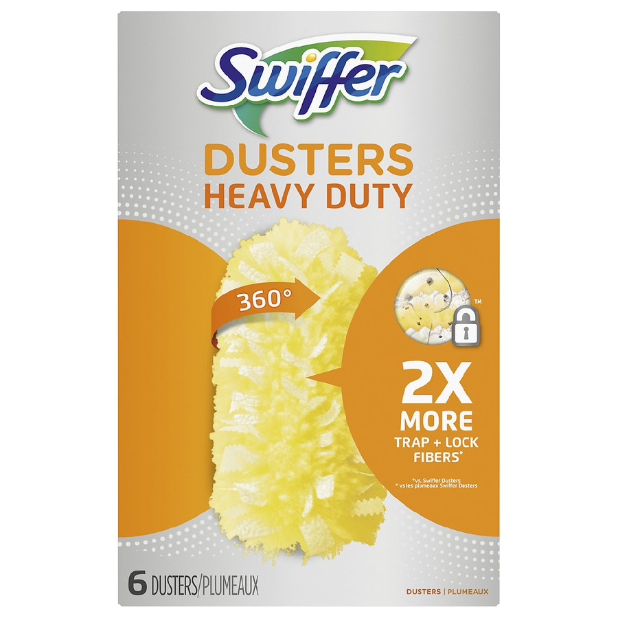 Unscented 6 ea Swiffer 360 Degrees Disposable Dusters Refills Pack of 3
