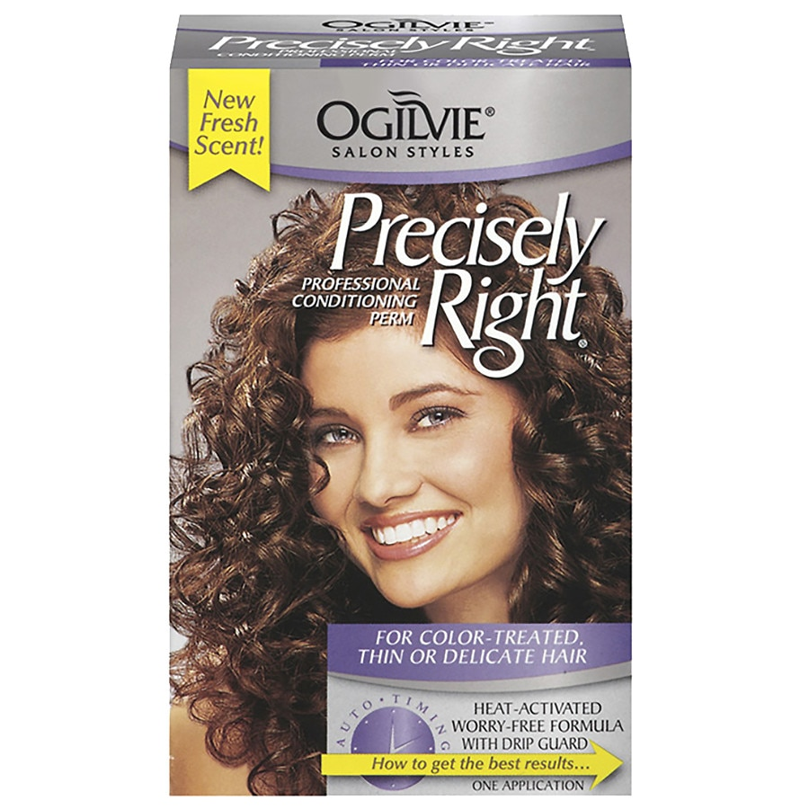 Ogilvie Precisely Right Professional Conditioning Perm Kit Walgreens