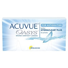 Acuvue Oasys for Astigmatism 1.0 Box