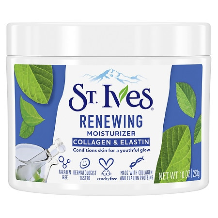 St. Ives Timeless Skin Facial Moisturizer, Collagen Elastin