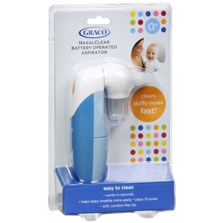 Graco Nasalclear 0+ Months Battery Operated Aspirator - 1 ea