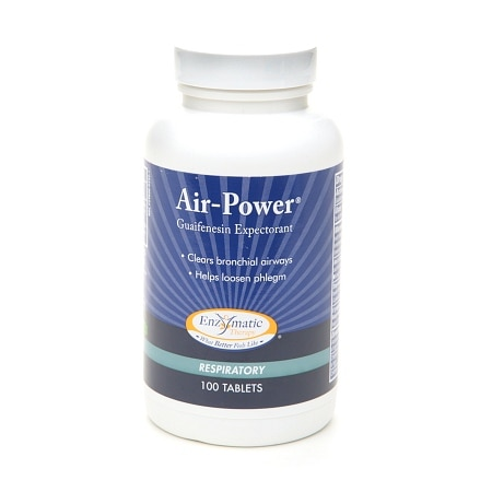 Enzymatic Therapy Air-Power Guaifenesin Expectorant - 100 ea