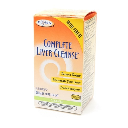 Enzymatic Therapy Complete Liver Cleanse, Ultracaps