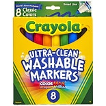 Crayola Washable Markers Broad Line Classic