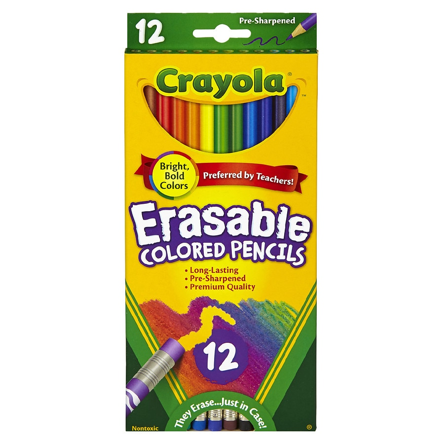 Crayola Colored Pencils Assorted Colors 50 ea Pack of 5
