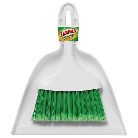 Libman Whisk Broom with Dust Pan - 1 EA