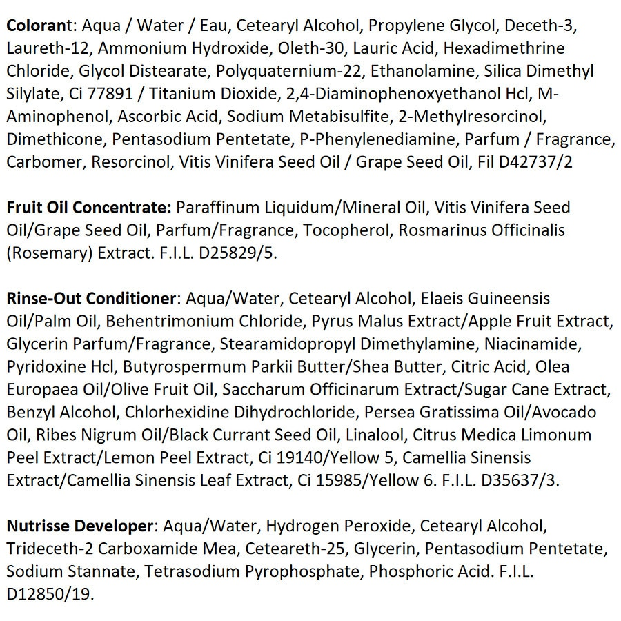 Garnier Nutrisse Ultra Color Nourishing Hair Color Cremeb3 Golden