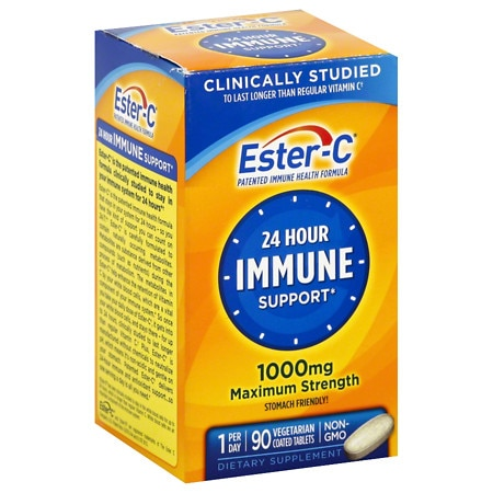 Ester C Vitamin C 1000 mg Tablets - 90 ea