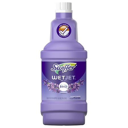 Swiffer Wet Jet Solution Refill with Febreze Lavender & Vanilla Comfort - 42.2 fl oz