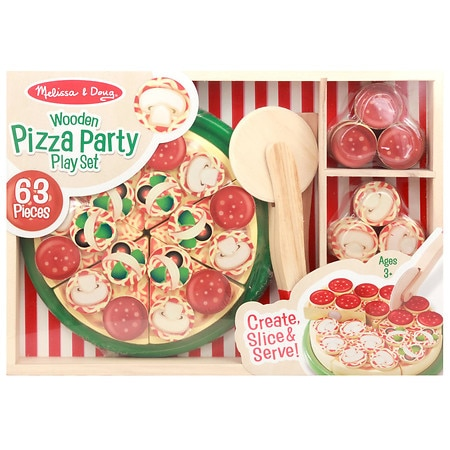 Melissa Doug Pizza Party Play Set