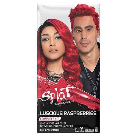 Splat Rebellious Colors Complete Hair Color Kit - 1 application