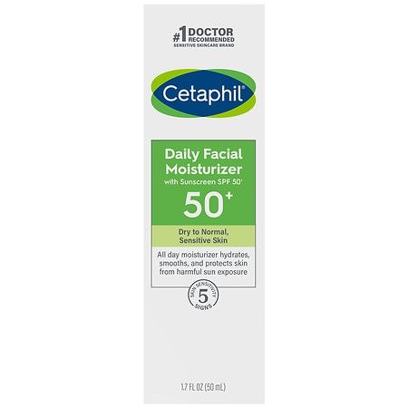 Cetaphil Daily Face Moisturizer Sunscreen SPF 50