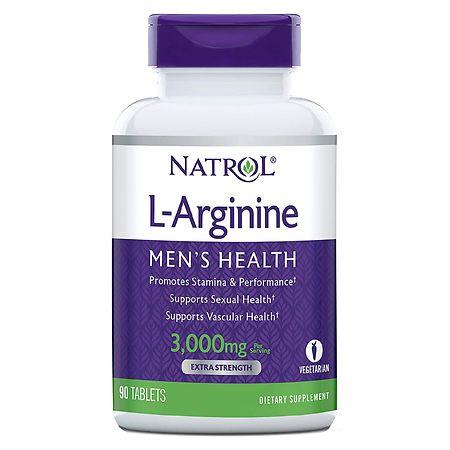 Natrol L-Arginine 3000 mg Dietary Supplement Tablets - 90 ea