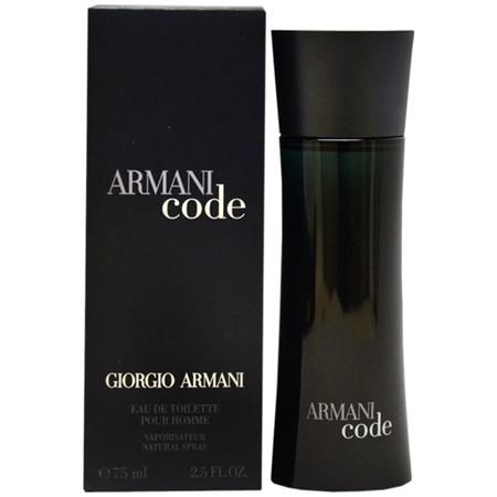 Giorgio Armani Armani Code for Men EDT Spray - 2.5 fl oz