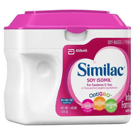 Similac Isomil Soy Infant Formula with Iron, Powder