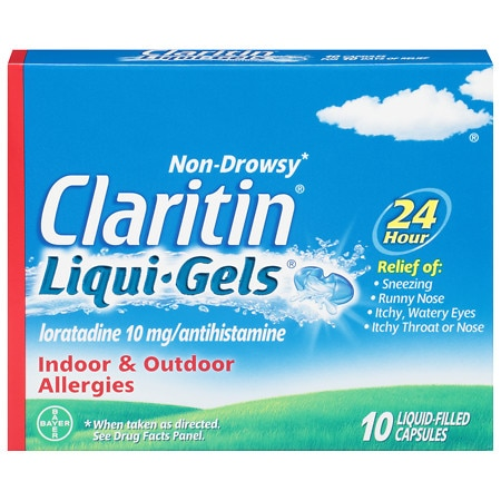 Claritin 24 Hour Allergy Relief Liqui-Gels
