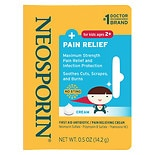 Neosporin First Aid Antibiotic + Pain Relief Cream