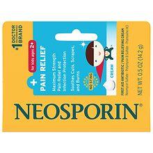 Neosporin First Aid Antibiotic + Pain Relief Cream | Walgreens