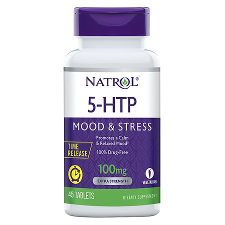 Natrol 5-HTP TR 100 mg Dietary Supplement Tablets