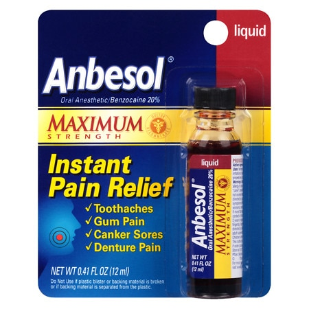 Anbesol Maximum Strength Instant Pain Relief
