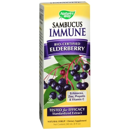 Nature's Way Sambucus Immune Syrup Berry