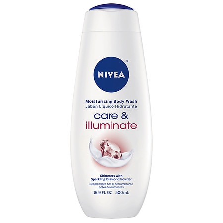 Nivea Sparkle Cream Oil Body Wash