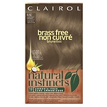 Clairol Natural Instincts Brass Free Semi-Permanent Hair Color 6.5C Lightest Brown