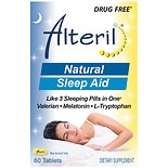 ALTERIL All Natural Sleep Aid Tablets