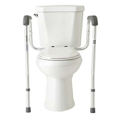 Medline Adjustable Toilet Safety Rails Walgreens