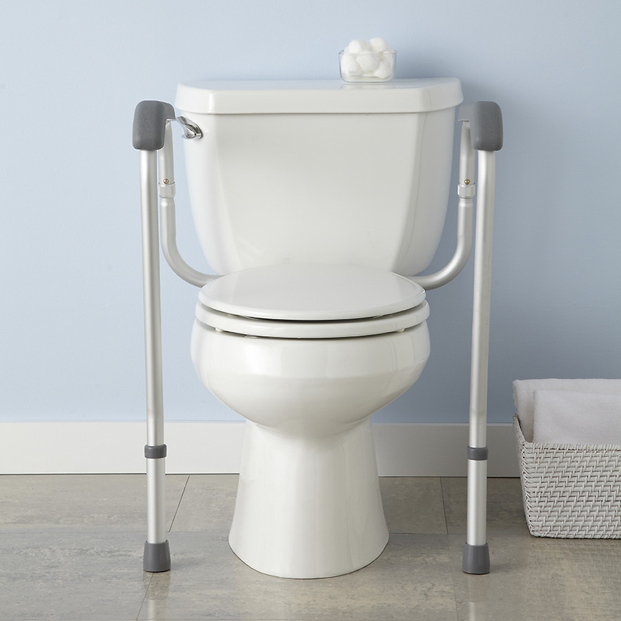 Medline Adjustable Toilet Safety Rails | Walgreens