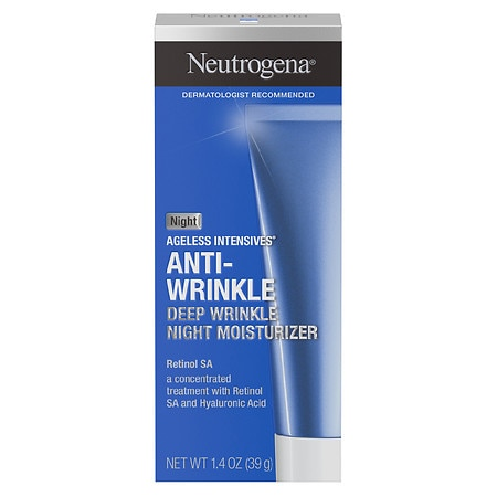 Neutrogena Ageless Intensives Anti-Wrinkle Deep Wrinkle Night Moisturizer - 1.4 oz.