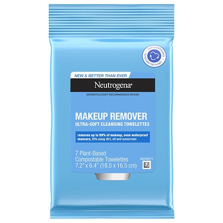 Neutrogena Makeup Remover Cleansing Towelettes, Travel Pack - 7 ea