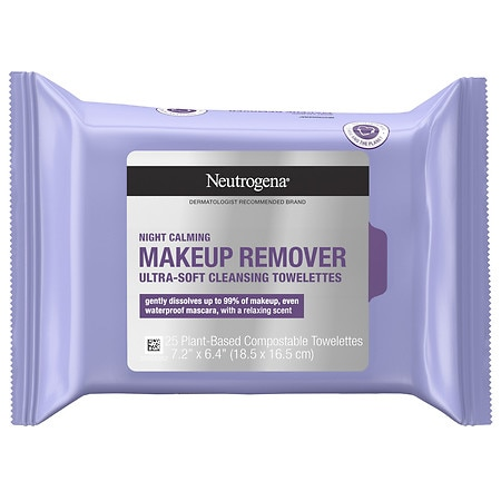 Neutrogena Makeup Remover Cleansing Pre-Moistened Towelettes - 25 ea