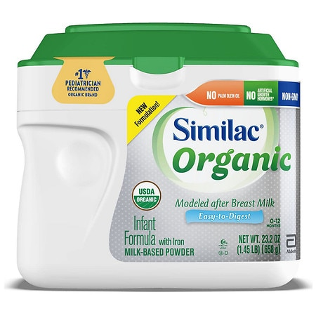 Similac Advance Organic Complete Nutrition Powder Makes approx 26 oz