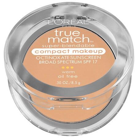 L'Oreal Paris True Match Super-Blendable Compact Makeup - 0.3 oz.