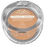 L'Oreal Paris True Match Super-Blendable Compact Makeup Natural Beige W4