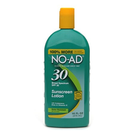 NO-AD Sunscreen Lotion, SPF 30 - 16 fl oz