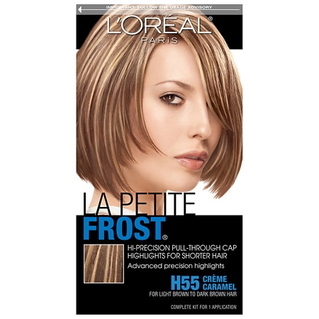 L'Oreal Paris La Petit Frost Hi-Precision Pull-Through Cap Highlights La Petite Frost H55 Creme Caramel