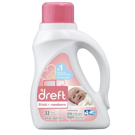 Dreft 2x Ultra He Detergent 50 Oz.