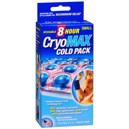 Cryo-Max Reusable 8 Hour Cold Pack Small - 1 ea